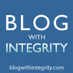 Blog With Integrity Page.